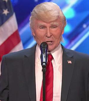 Singing Trump